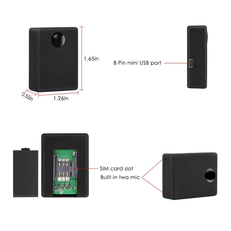 N9 Spy GSM Radio Bug Surveillance Device Two-Way Auto Answer & Dial Audio Device Listening