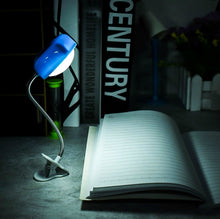 Load image into Gallery viewer, Mini Love Heart Clip LED Book Light Lamps Reading Book Desk Lamp Keyboard Light Eyes-Protect Energy Save Night Lights