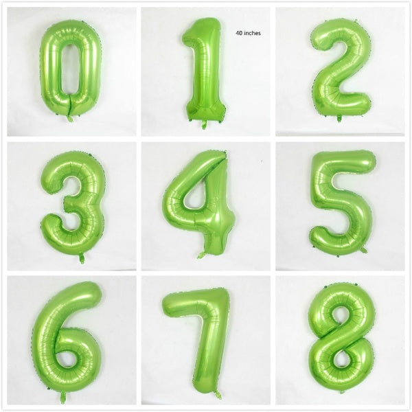 1PC 40inch Number Balloon Can Be Used for Birthday Parties