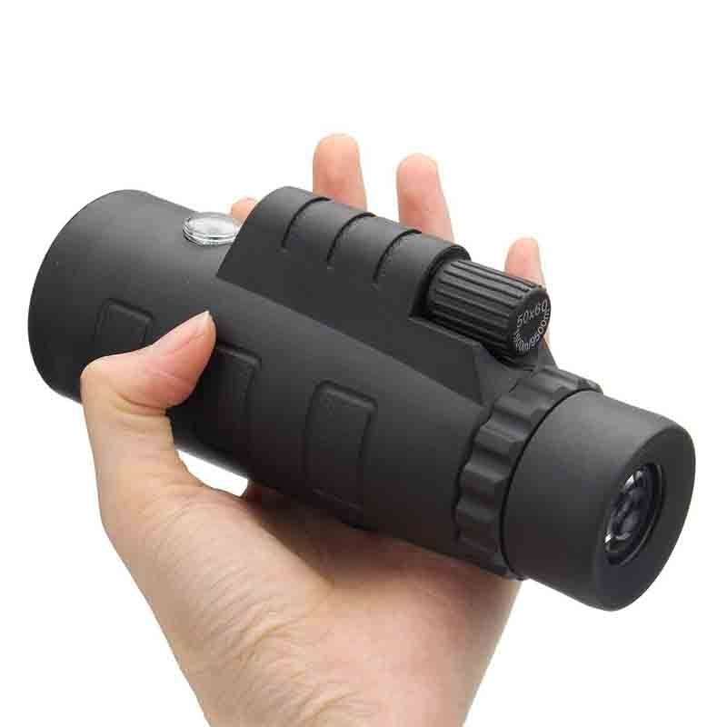 40X60 HD Monocular Telescope Dual Focusing Adjustment Low Light Night Vision Binocular Spotting Scope Hunting Watching