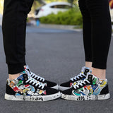 New Couple High-top Flat Shoes Outdoor Casual Sports Running Shoes