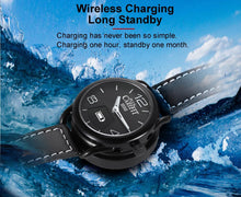 Load image into Gallery viewer, Ainuevo A1 Business Smart Watch 0.49 Inch OLED Sapphire Air Touch 3ATM Waterproof Heart Rate Monitor Blood Blood Oxygen Pressure