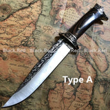 Top Quality 12'' Fixed Blade Tactical Military Knife Wood Handle Rescue Knives Self Defense Sword Combat Dagger Hunting Collection Knifes