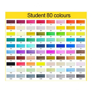 12/18/24/30/40/48/60/80 Colors Starting school Artist Dual Head Copic Markers Set School Drawing Sketch Oily Amine Design Designer
