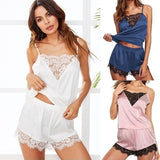 Fashion Trend New Female Sense Suspender Lace Pajamas Fashion  Pajama Set Lingerie Set XS-3XL