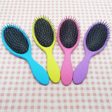 Comfortable Detangle Showder Cushion Hair Brush Wet and Dry Massage Airbag Comb Hair Salon Styling Tamer Brush