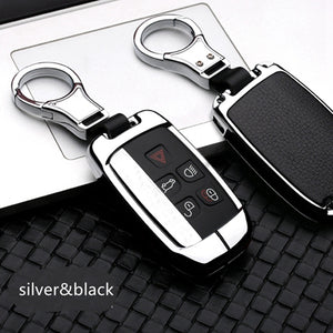 High Quality Car Keychain Case Holder For Land Range Rover Sport Discovery Sport Evoque Freelander 2 For JAGUAR XE XF XJ F PACE