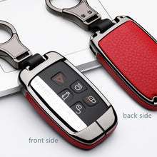 Load image into Gallery viewer, High Quality Car Keychain Case Holder For Land Range Rover Sport Discovery Sport Evoque Freelander 2 For JAGUAR XE XF XJ F PACE