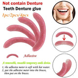 Temporary Smile Comfort Fit Cosmetic Teeth Denture Glue For Denture Teeth For Your Beauty