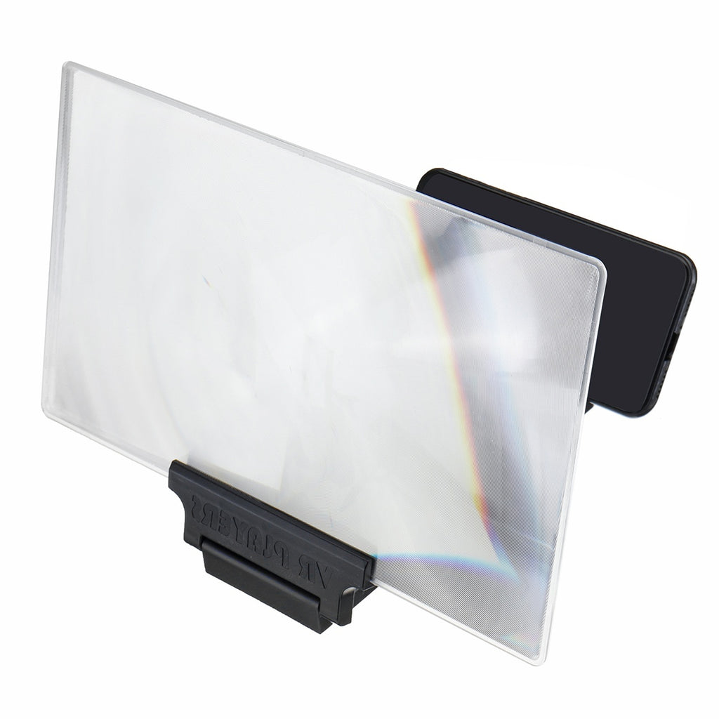 14/12'' 3D HD Mobile Phone Screen Amplifier Video High Definition Magnifier Eye Protection Multi-functional Mobile Phone Bracket