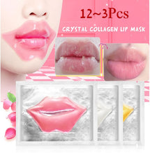 Load image into Gallery viewer, 12pcs/9pcs/6pcs/3pcs Effective Sleep Lip Mask Removal Of Keratin Labial Membrane 3 Color