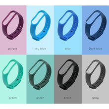 Load image into Gallery viewer, Applicable for xiaomi bracelet 3 4 TPU monochrome replacement wristband