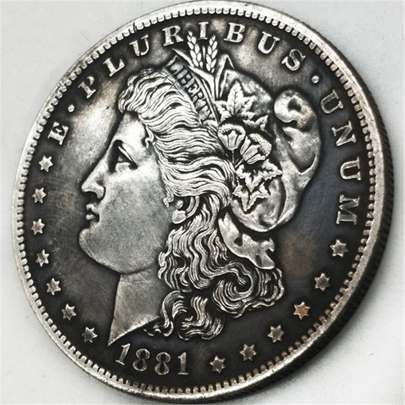 28 Pcs US souvenir Coin 1878-1921 Full Set Morgan Dollar Antique Ancient Silver Coins Liberty Collection Coins old value USA