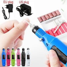 Load image into Gallery viewer, Electric Nail Drill Machine Polish Grinding Nail Art Manicure Tool Exfoliating Professional Nail Art