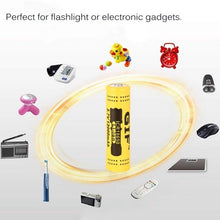 Load image into Gallery viewer, HOT! 18650 3.7V 12000mAh Capacity Rechargeable Li-ion Battery LED Flashlight Torch Power Bank batteries