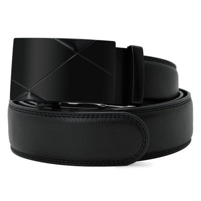 Very Long 105cm-170cm  Wide 3.5cm Belts for Men's Automatic Buckle Imitation Leather Belt  for Fashion Designer Belts for Men Jean Belt Automatic  Wide 3.5cm  Belt Very Long 105cm-170cm
