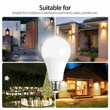 Load image into Gallery viewer, E27 Radar Sensor Ambient PIR Motion LED Globe Bulb Light Lamp