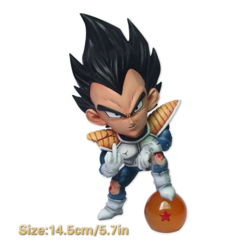 Anime Dragon Ball Z 9 Type Freeza goku vegeta buu cell Collectible Figurines