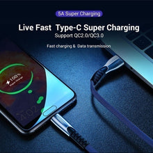 Load image into Gallery viewer, 2019Luxury USB Cable for IPhone XS MAX XR X 7 8 SE for IPad Charging Wire Cord Charger Cable for Micro USB Android Phones for Huawei Samsung Type-C Phone Charging Cord