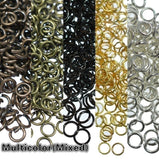 Necklace Jump Rings Open Loops Links Hooks Clasps Bracelet Spacer Beads Charms