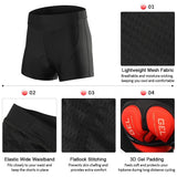 Men Bike Underwear 3D Padded MTB Bicycle Cycling Biking Underwear Shorts