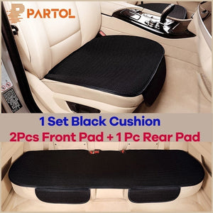 Four Seasons Universal Breathable Car Seat Cushion Front Rear Automobile Seat Cover Cushion Pad Mat Accessories