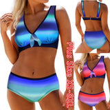 Womnes Bikini Set Swimsuit Beach Bathing Suit Swimwear Monokini Tankini Plus Size