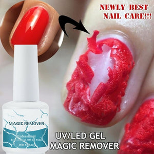 UV Gel Nail Polish Burst Magic Remover Gel Liquid Nail Art Primer Acrylic Clean Soak Off Remover