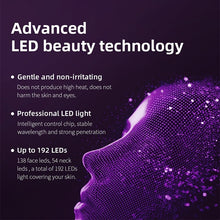 Load image into Gallery viewer, New Style LED 7 Colors Light Photon Face Neck Mask Skin Rejuvenation Therapy Wrinkles 7 Colors Whitening+Acne+massage Suitable for Most Skin Types(Plug of Adapter Would Be Sent According To Your Shipping Country