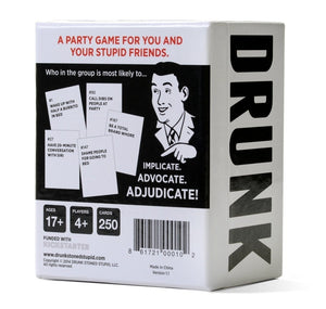 DRUNK STONED OR STUPID A Party Game / Expansion #1