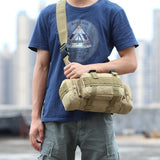 Multi-functional Outdoor Hiking Backpack Mountaineering Military Bag Cross Body Tactical Shoulder Bag