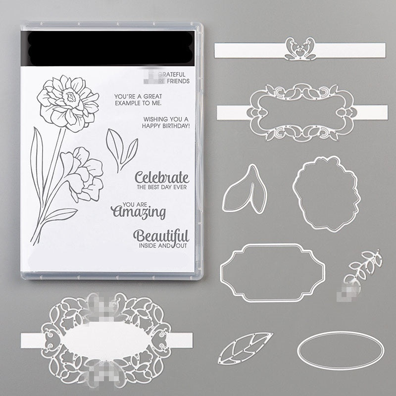 FLOWER Metal Cutting Dies and stamps Stencil For DIY Scrapbooking Card Decorative Craft Dies Embossing Die Cuts New 2019