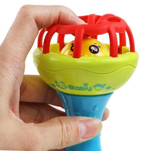 Load image into Gallery viewer, Baby Hand Rattle Hand Catch Ball Rattle Puzzle Soft Glue Bell Car Kids Toys