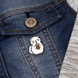 Coffee Enamel Pin Women Decoration Fashion Jewelry Brooch Pin