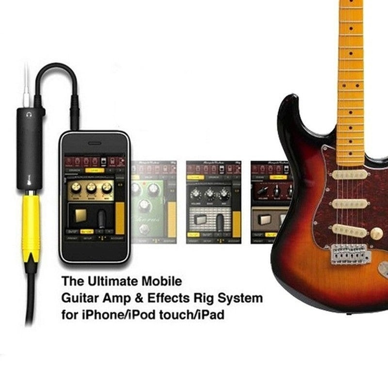 Guitar Interface IRig Converter Replacement Guitar for Phone A2T1 1PC