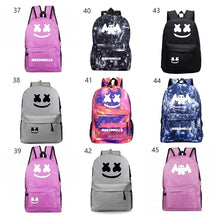 Load image into Gallery viewer, Marshmello backpack mochila  Backpack Galaxy Space School Bags for Teenage Girls Boys Laptop Backpack Casual Travel Bags