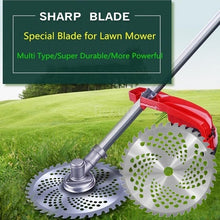 Load image into Gallery viewer, 40T 255mm Diameter Alloy Lawn Mower Brush Cutter Blade Mower Accessories Tool