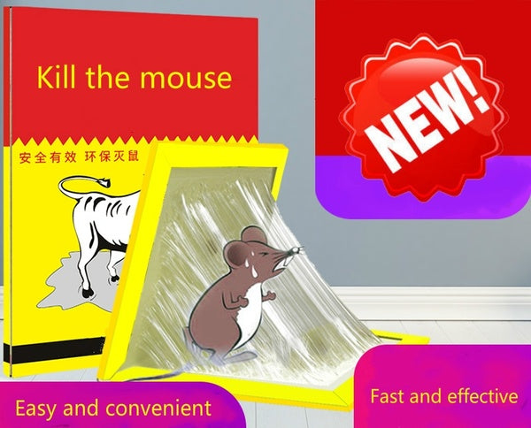 Strong sticky mouse board catching sticky mouse glue home mousetrap rodent artifact artifact mouse nemesis