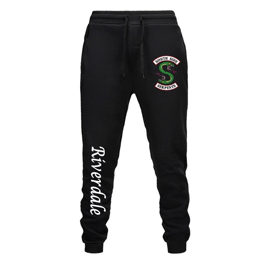 Riverdale Women Joggers Pants South Side Serpents Sweatpants French Terry Soft Stretch Drawstring Trousers