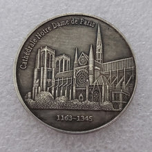Load image into Gallery viewer, Memorial coins in memory of the burnt Notre Dame in Paris
