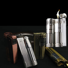 Load image into Gallery viewer, IMCO classic lighter Gasonlion retro style oil gasoline can be filled with flint ignition wheel fire lighter