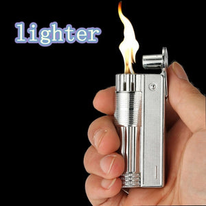 IMCO classic lighter Gasonlion retro style oil gasoline can be filled with flint ignition wheel fire lighter