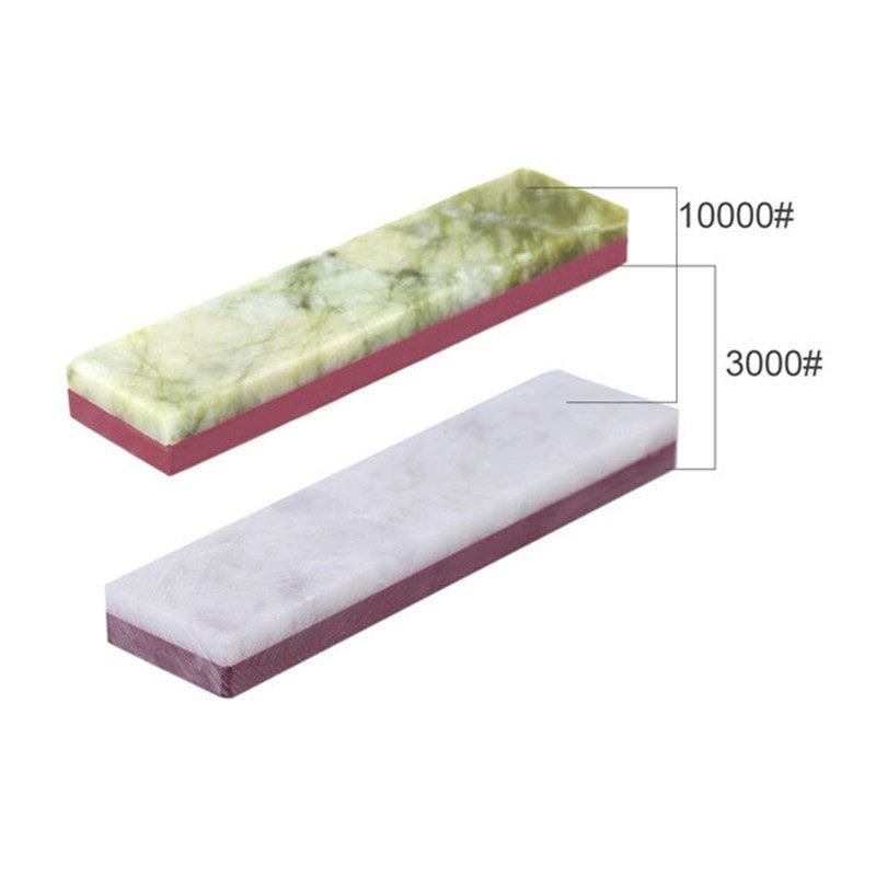 3000# 10000# 2-Sides Grit Polishing Sharpener Stone Whetstone Tool