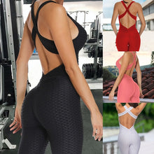 Load image into Gallery viewer, NEW Anti-Cellulite Compression Leggings Yoga Rompers Pants Jumpsuit Gym Clothes for Women