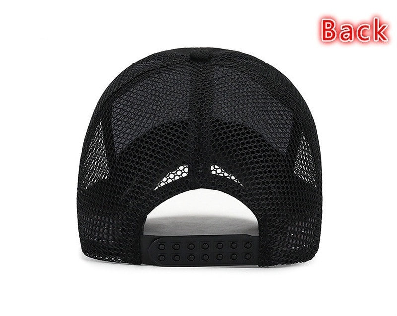Fashion Net Cap Men's Anti-swing Sun Cap Recreational Sunshade Baseball Cap
