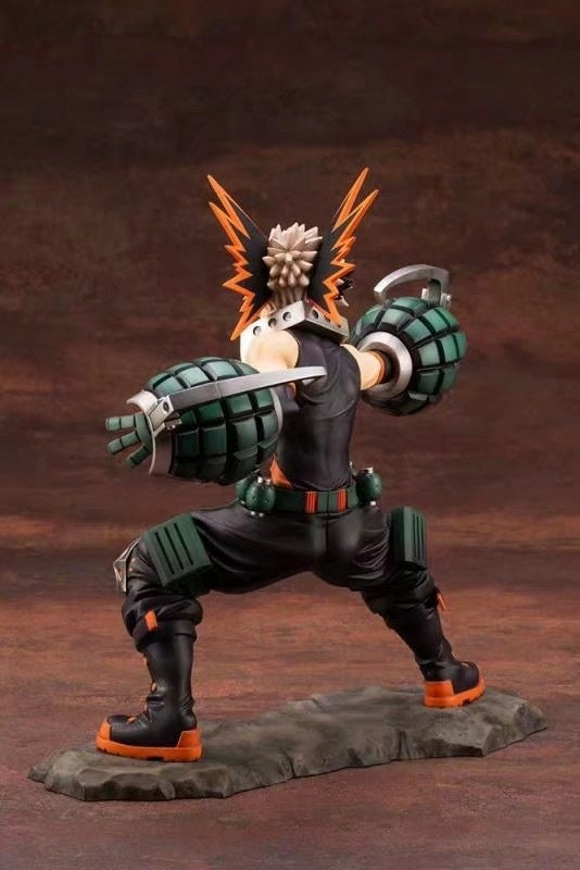 My Hero Academia DEKU Bakugou Katsuki ARTFXJ PVC Action Figure Toys Anime Boku no Hero Academia Figurine Toy