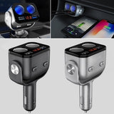 Car Cigarette Lighter Adapter QC3.0 Cigarette Lighter Dual USB Charger Socket Splitter Plug Adapter