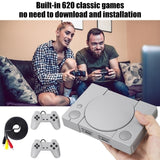 Ribute To The Classic  8-bit Mini Home Game Console Built-in 620 Game Classic Retro Double Battle Game Console