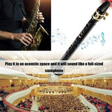 Black Pocket Sax Mini Portable Saxophone Little Saxophone With Carrying Bag Woodwind Instrument