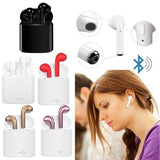 1 Pair Fashion Wireless Bluetooth Stereo Handsfree Earphone Headphone Headset for Smart Phone